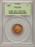 Proof Indian Cents: , 1907 1C PR63 Red and Brown PCGS. PCGS Population (39/126). NGCCensus: (26/184). Mintage: 1,475. Numismedia Wsl. Price for ...