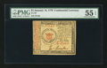 Colonial Notes:Continental Congress Issues, Continental Currency January 14, 1779 $1 PMG About Uncirculated 55EPQ.. ...