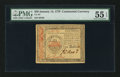 Colonial Notes:Continental Congress Issues, Continental Currency January 14, 1779 $50 PMG About Uncirculated 55EPQ.. ...
