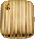 Estate Jewelry:Boxes, Gold Cigarette Case, German. ...