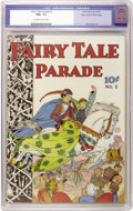 Golden Age (1938-1955):Humor, Fairy Tale Parade #2 Mile High pedigree (Dell, 1942) CGC NM+ 9.6 Off-white to white pages....