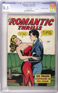 "Golden Age (1938-1955):Romance, Fox Giants: Romantic Thrills #nn Davis Crippen (""D"" Copy) pedigree(Fox Features Syndicate, 1950) CGC VF+ 8.5 Off-white pages...."