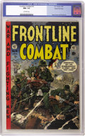 Golden Age (1938-1955):War, Frontline Combat #15 Gaines File pedigree 8/11 (EC, 1954) CGC NM+9.6 Off-white to white pages. The final issue of the criti...