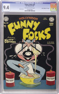 """Golden Age (1938-1955):Funny Animal, Funny Folks #20 Davis Crippen (""""D"""" Copy) pedigree (DC, 1949) CGC NM9.4 Off-white to white pages...."""