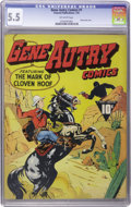Golden Age (1938-1955):Western, Gene Autry Comics #1 (Fawcett, 1941) CGC FN- 5.5 Off-whitepages....