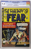 Golden Age (1938-1955):Horror, Haunt of Fear #16 (#2) Gaines File pedigree 3/9 (EC, 1950) CGCNM/MT 9.8 Off-white to white pages. Outrageous copy, even for...