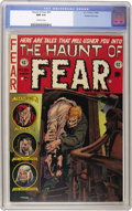 Golden Age (1938-1955):Horror, Haunt of Fear #20 Gaines File pedigree 8/11 (EC, 1953) CGC NM 9.4Off-white pages. Even though the EC horror titles had been...
