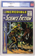 Golden Age (1938-1955):Science Fiction, Incredible Science Fiction #31 Gaines File pedigree 1/12 (EC, 1955)CGC NM 9.4 White pages. On initial review by William Gai...