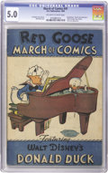 Golden Age (1938-1955):Funny Animal, March of Comics #41 Donald Duck (K. K. Publications, Inc., 1949) CGC VG/FN 5.0 Off-white to white pages....