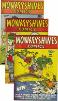"Golden Age (1938-1955):Funny Animal, Monkeyshines Comics Group - Davis Crippen (""D"" Copy) pedigree (Ace,1944-49).... (Total: 24)"