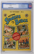 Golden Age (1938-1955):Religious, Picture Stories from the Bible Old Testament Edition #1 Gaines Filepedigree 4/12 (EC, 1946) CGC NM 9.4 Off-white pages....