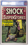 Golden Age (1938-1955):Horror, Shock SuspenStories #18 Gaines File pedigree 3/12 (EC, 1955) CGC NM9.4 Off-white to white pages....