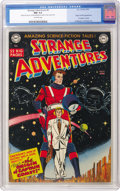 Golden Age (1938-1955):Science Fiction, Strange Adventures #9 (DC, 1951) CGC NM 9.4 Off-white pages....