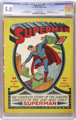 Superman #1 Nova Scotia pedigree (DC, 1939) CGC VG/FN 5.0 Off-white pages
