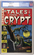Golden Age (1938-1955):Horror, Tales From the Crypt #22 Gaines File pedigree 3/10 (EC, 1951) CGCNM+ 9.6 Off-white to white pages....