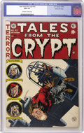 Golden Age (1938-1955):Horror, Tales From the Crypt #43 Gaines File pedigree 2/12 (EC, 1954) CGCNM 9.4 Off-white to white pages....