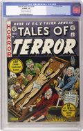 Golden Age (1938-1955):Horror, Tales of Terror Annual #3 (EC, 1953) CGC VF/NM 9.0 Cream tooff-white pages....
