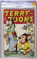 """Golden Age (1938-1955):Cartoon Character, Terry-Toons Comics #44 Davis Crippen (""""D"""" Copy) pedigree (Timely, 1946) CGC NM 9.4 Cream to off-white pages...."""