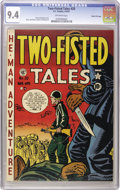 Golden Age (1938-1955):War, Two-Fisted Tales #20 Gaines File pedigree 9/9 (EC, 1951) CGC NM 9.4Off-white pages....