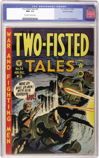 Two-Fisted Tales #24 Gaines File pedigree 3/10 (EC, 1951) CGC NM+ 9.6 Off-white to white pages