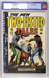 Two-Fisted Tales #36 Gaines File pedigree 11/11 (EC, 1954) CGC NM 9.4 Off-white to white pages