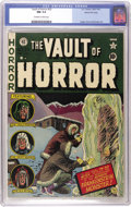 Golden Age (1938-1955):Horror, Vault of Horror #22 Gaines File pedigree 4/12 (EC, 1951) CGC NM 9.4Off-white to white pages....