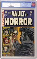Golden Age (1938-1955):Horror, Vault of Horror #32 Gaines File pedigree 4/11 (EC, 1953) CGC NM+9.6 White pages....