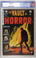 Golden Age (1938-1955):Horror, Vault of Horror #36 Gaines File pedigree 9/12 (EC, 1954) CGC NM+9.6 Off-white to white pages....