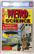 Golden Age (1938-1955):Science Fiction, Weird Science #13 (#2) Gaines File pedigree (EC, 1950) CGC NM/MT9.8 Off-white to white pages....