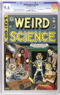 Golden Age (1938-1955):Science Fiction, Weird Science #15 (#4) Gaines File pedigree 7/9 (EC, 1950) CGC NM+9.6 Cream to off-white pages....
