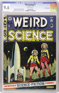 Golden Age (1938-1955):Science Fiction, Weird Science #7 Gaines File pedigree 5/10 (EC, 1951) CGC NM+ 9.6Off-white pages....