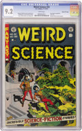Golden Age (1938-1955):Horror, Weird Science #22 Gaines File pedigree (EC, 1953) CGC NM- 9.2 Whitepages. The best story in the history of EC? Some would n...