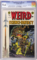 Golden Age (1938-1955):Science Fiction, Weird Science-Fantasy #27 Gaines File pedigree 5/12 (EC, 1955) CGCNM+ 9.6 Off-white to white pages....