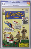 Silver Age (1956-1969):Superhero, Adventure Comics #284 (DC, 1961) CGC NM 9.4 Off-white to white pages....