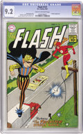 Silver Age (1956-1969):Superhero, The Flash #121 (DC, 1961) CGC NM- 9.2 Cream to off-white pages.This copy seems to have left all others in the dust, speedin...