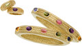 Estate Jewelry:Suites, Amethyst, Peridot, Pink Tourmaline, Citrine, Gold Jewelry Suite. ...