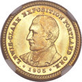 Commemorative Gold, 1905 G$1 Lewis and Clark MS67 NGC....