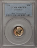 Mercury Dimes: , 1916 10C MS67 Full Bands PCGS. PCGS Population (92/8). NGC Census:(71/12). Mintage: 22,180,080. Numismedia Wsl. Price for ...