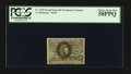 Fractional Currency:Second Issue, Fr. 1245 10¢ Second Issue PCGS Choice About New 58PPQ.. ...