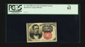 Fractional Currency:Fifth Issue, Fr. 1265 10¢ Fifth Issue PCGS New 62.. ...