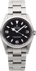 Timepieces:Wristwatch, Rolex Ref. 114270 Steel Oyster Perpetual Explorer, circa 2001. ...