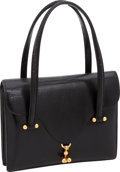"""Luxury Accessories:Bags, Hermes Black Lizard Classic Day Bag with Gold Hardware, 8.5"""" x 6.5""""x 2"""", Excellent Condition. ..."""