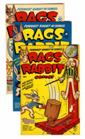 Golden Age (1938-1955):Funny Animal, Rags Rabbit Comics Group (Harvey, 1951-54) Condition: AverageVF+.... (Total: 8 Comic Books)