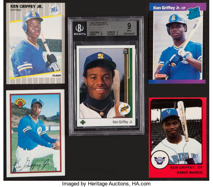 2fbd47bc31 ... Baseball Cards:Lots, 1988-89 Ken Griffey, Jr. Rookie Cards Collection  ...