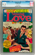 Silver Age (1956-1969):Romance, Young Love #53 Savannah pedigree (DC, 1966) CGC NM- 9.2 Off-whitepages....