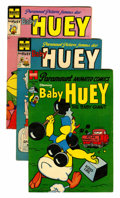 Golden Age (1938-1955):Cartoon Character, Paramount Animated Baby Huey Comics Group (Harvey, 1954-56)Condition: Average VG-.... (Total: 10 Comic Books)