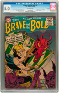 Golden Age (1938-1955):Adventure, The Brave and the Bold #2 Savannah pedigree (DC, 1955) CGC VG/FN 5.0 Off-white pages....
