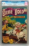 Silver Age (1956-1969):Adventure, The Brave and the Bold #11 Savannah pedigree (DC, 1957) CGC FN+ 6.5 Off-white pages....