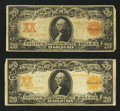 Large Size:Gold Certificates, Fr. 1181 $20 1906 Gold Certificate Very Good;. Fr. 1186 $20 1906 Gold Certificate Very Good.. ... (Total: 2 notes)