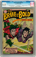 Silver Age (1956-1969):Adventure, The Brave and the Bold #14 Savannah pedigree (DC, 1957) CGC FN 6.0 Off-white to white pages....